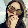 Free shipping glasses New Fashion glasses Women Big Fashion sexy retro Round colours Sunglasses  4 colors glasses