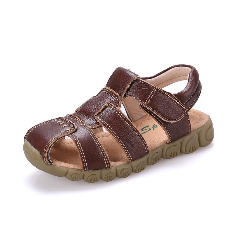 Children Sandals Children shoes boys Leather Sandals Male Child Sandals kids Boy Summer Sandals casual comfortable 2018