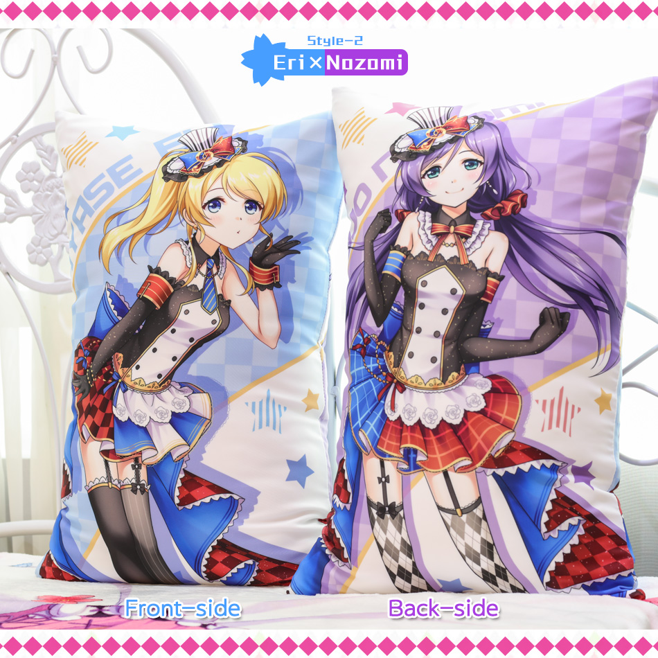 Japanese Anime Love Live Staff Hugging Body Back Pillow School Idol - Home Textile - Photo 6