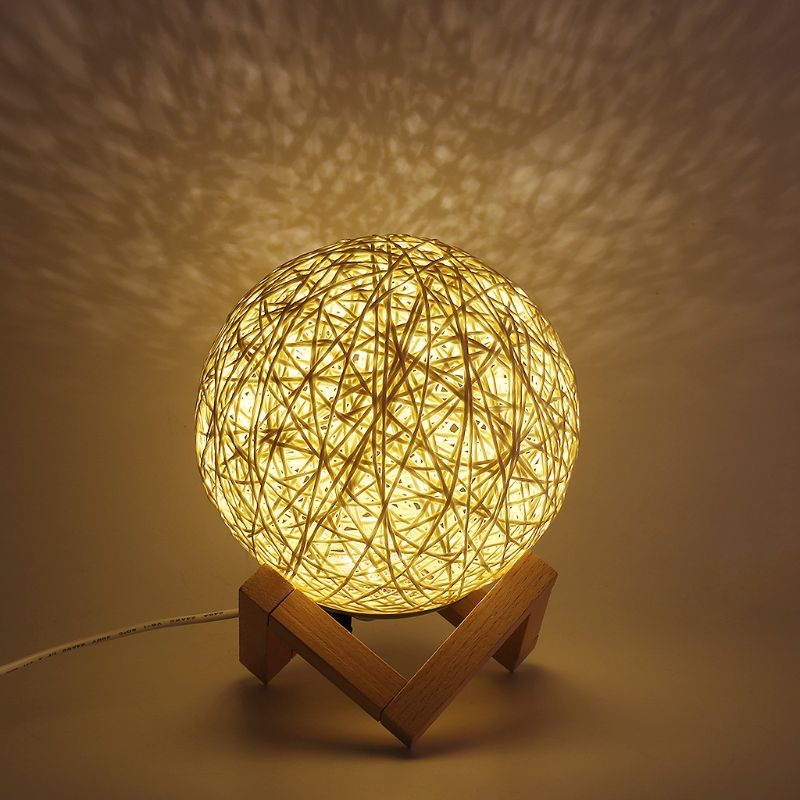 Modern LED Moon Night Light Creative Projection Lamp USB Charging With Dimming Switch in Night Lights from Lights Lighting