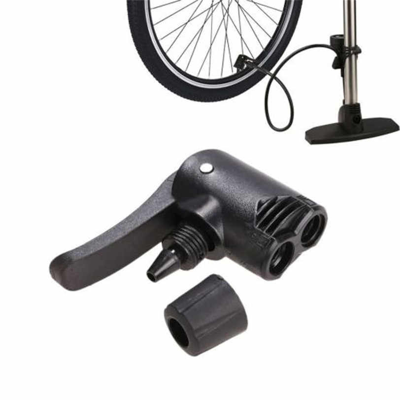 GHKK Bicycle Bike Cycle Tyre Tube Replacement Presta Dual Head Air Pump Adapter Valve Camping Cycling