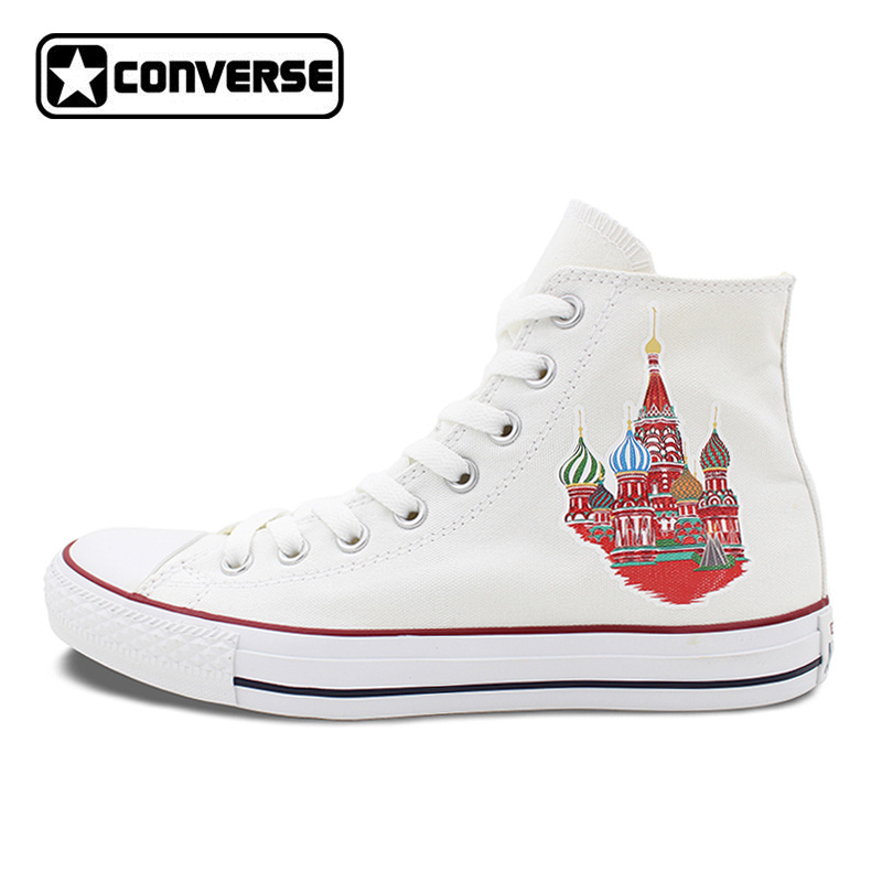 Converse All Star High Top Shoes for Men Women Colored Russia Saint Basil