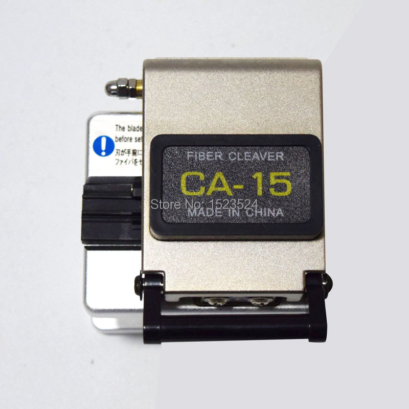 Free Shipping CA 15 Fiber Cleaver Optical Fiber Cutting Knife Fiber Optic Cleaver High Precision Cleaver