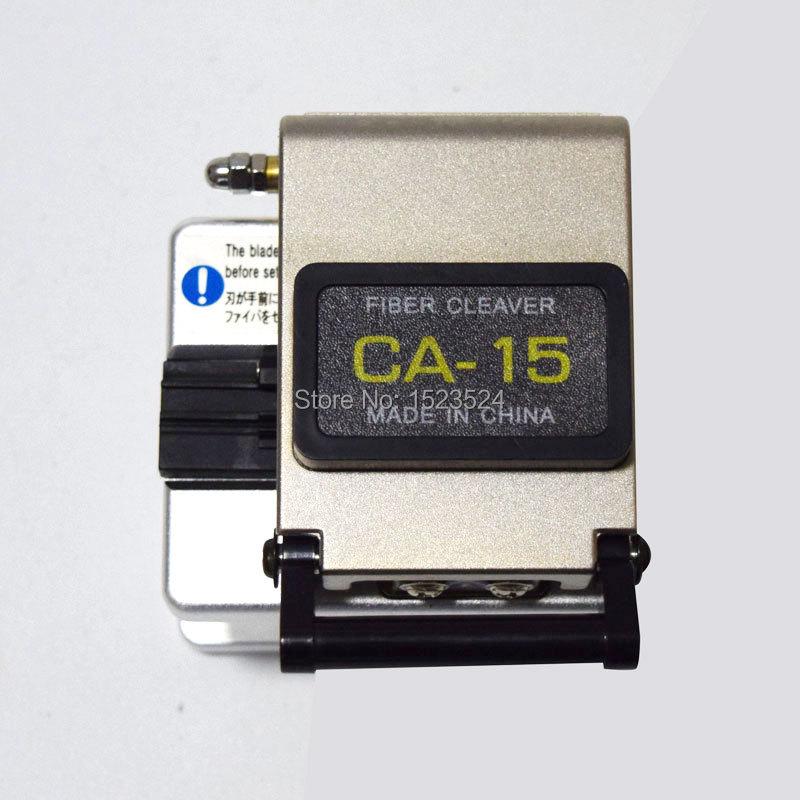 Free Shipping CA 15 Fiber Cleaver Optical Fiber Cutting Knife Fiber Optic Cleaver High Precision Cleaver Fiber Cutter