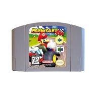 Marioed Kart English Language For 64 Bit USA Version Video Game Cartridge Console