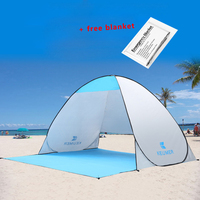 KEUMER Beach Tent Pop Up Open Camping Tent Fishing Hiking Outdoor Automatic Instant Portable 120 60