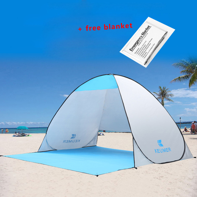KEUMER Beach Tent Pop Up Open C&ing Tent Fishing Hiking Outdoor Automatic Instant Portable (120  sc 1 st  AliExpress.com & KEUMER Beach Tent Pop Up Open Camping Tent Fishing Hiking Outdoor ...