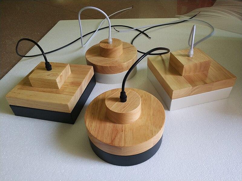 Ygfeel moderne restaurant hanglampen massief hout hanger lamp
