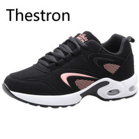 Thestron Sneakers Women Sports Shoes Running Air Training Shoe Cheap Jogging Trail Black White Pink Women