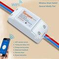 Itead Sonoff Умный Дом Wifi Беспроводной Пульт Дистанционного Управления, Универсальный Модуль Таймера, для MOTT COAP Control by IOS Android