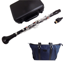 performance Grade Clarinet French system Professional Ebony clarinets Silver plated keys Musical instruments