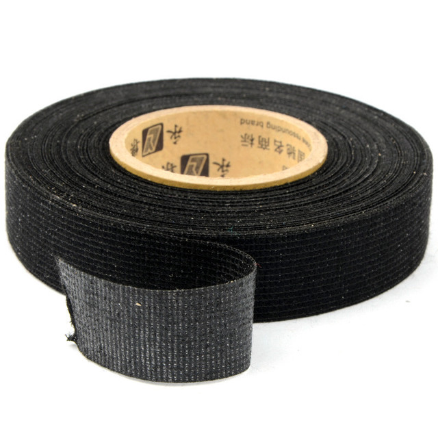19mm x 15 m Tesa Coroplast cinta de tela adhesiva para Cable arnés cableado telar cinta eléctrica
