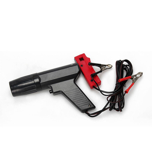 Image 3 - ドロップシッピングブラックプロフェッショナル車誘導タイミングライトテスターエンジン点火時期銃筒キセノンランプ検出器