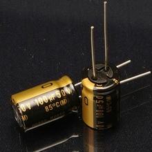 30PCS nichicon new Japanese original audio electrolytic capacitor KZ 100Uf/50V free shipping