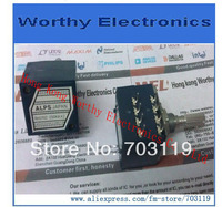 Free Shipping 5pcs Lot ALPS Resistance Stepper Double Volume Potentiometer RH2702 250KA 250KA Exponential