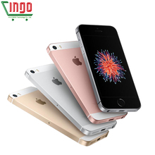 Unlocked Apple iPhone SE Cell Phones LTE 4.0′ 2GB RAM 16/64GB ROM Chip A9 iOS 9.3 Dual-core Fingerprint Mobile Phone