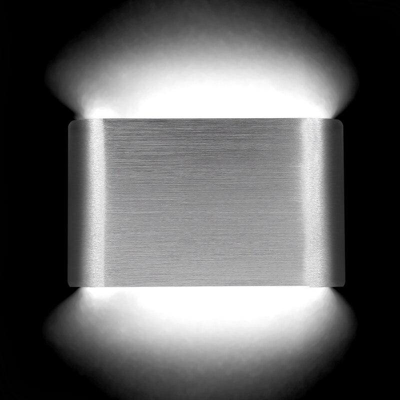 Led-lampen Led Moderne Wand Lihgt Aluminium Lampe 4 Watt 14 Cm 8 Watt 25 Cm 14 Watt 40 Cm 20 Watt 55 Cm Ac85-265v Für Wohnzimmer Schlafzimmer Nacht Aisle Beleuchtung