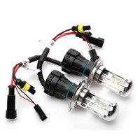 2 unids xenon H4 bixenon lámpara 35 W H4 H13 9004/9007 Reemplazo HID Bi xenon HID bombilla Del Faro 4300 K 6000 K 8000 K 10000 K