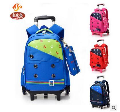 trolley wheeled backpack kids rolling backpack for school kids children trolley school bag travel trolley luggage