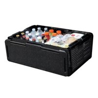 60 Cans Chill Chest Cooler Collapsible Portable Outdoor Thermos Cool Box Insulated Waterproof AKC6219 Picnic Car Storage Box
