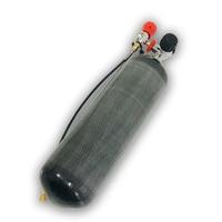 Углеродного волокна цилиндра Пейнтбол Бак 6.8L 4500Psi + Датчик клапан + заправочной станции SCBA дыхание/дайвинг/ PCP винтовка Охота