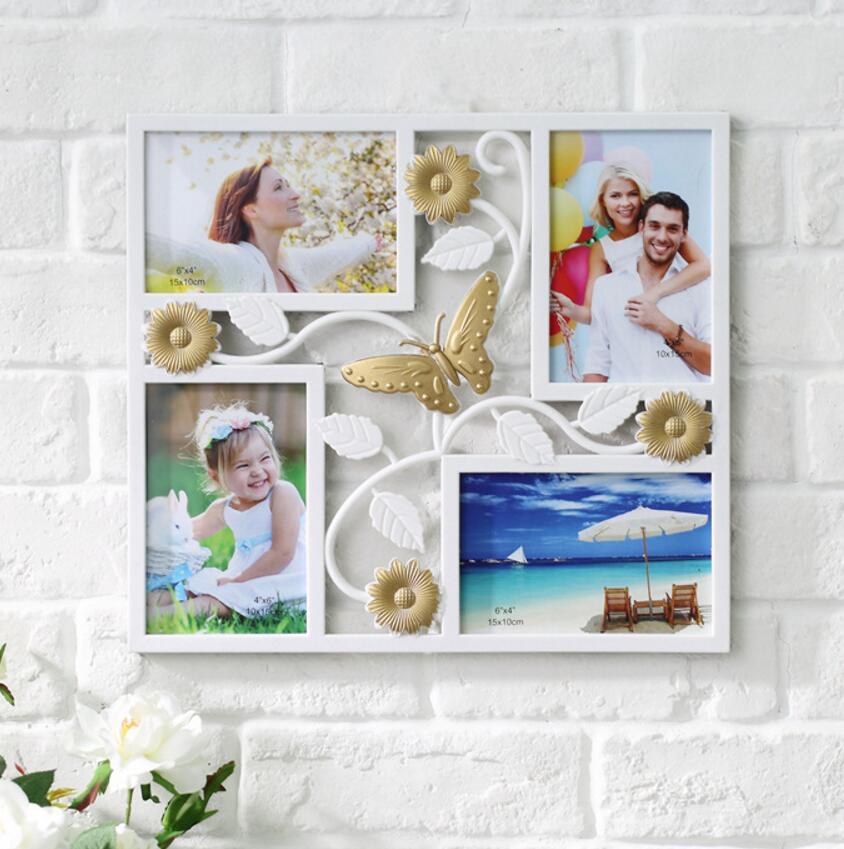 SUFEILE Marco de fotos de familia Europeo creativo foto de la boda - Decoración del hogar