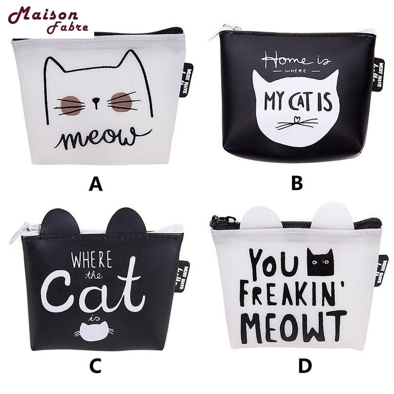 Bags Women Cute Wallet Girls Animals Fashion Snacks Coin Purse Change Pouch Key Holder Mini Bag Luggage & Bags