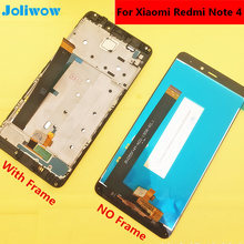 цена на For original Xiaomi Redmi Note 4 Helio X20 LCD Display +Touch Screen Digitizer Glass Lens Assembly Replacement Give silicon case