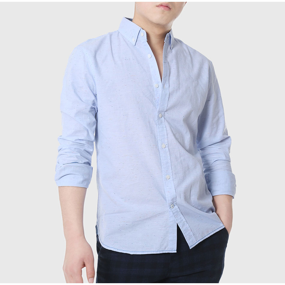 003e544b5fd Mens Slim Fitted Shirts Social Men Casual White Shirts Oxford ...