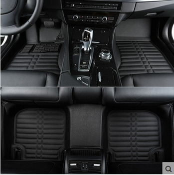 Good quality mats! Custom special floor mats for Toyota Highlander 5 seats 2013-2007 durable waterproof carpets,Free shipping