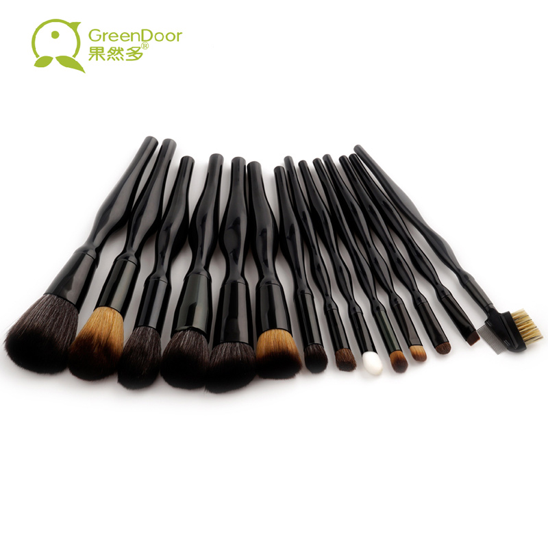 New Body Curve 14 PCS/SET Professional Makeup Brushes Set Beauty Make Up Brushes Powder Eye Shadow Brush Portable Makeup Tools купить
