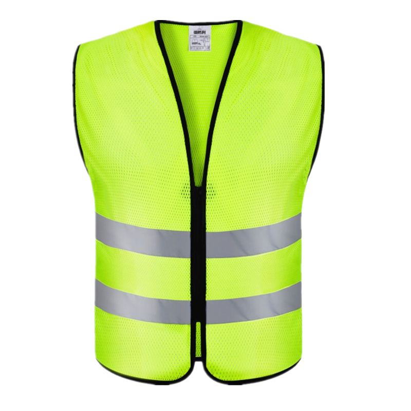 Unisex High Visibility Reflective Summer Breathable Mesh Clothes Safety Vest Construction Traffic Work Uniforms Warning Workwear