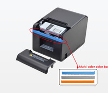 цена NEW80mm receipt POS printer Automatic cutter bill Thermal  printer USB Ethernet Serial Three ports are integrated in one printer онлайн в 2017 году