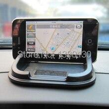 Бесплатная доставка автоаксессуары антипробуксовочная площадку резина мобильного телефона полка антискользящий коврик для GPS / MP3 / сотовый телефон