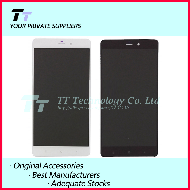 ФОТО For XIAOMI Mi Note LCD display + touch screen digitizer Assembly 100% Tested New for xiaomi mi note Free shipping+free tools