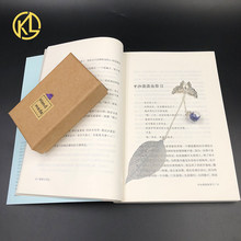 The Best Birthday Gifts For Students And Teachers Metal Leaf Bookmark With Butterfly Flower Ball