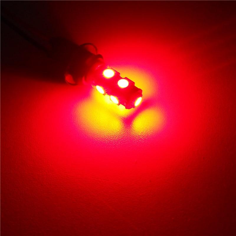 12 V-os LED-es izzólámpa 1Pair T10 (9 * 5050 SMD) W5W W2.1x9.5d - Autó világítás - Fénykép 4