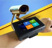 Tragbare Handschlaufe Monitor für AHD CVI TVI-Kamera / CCTV IP-Kamera-Tester / Android-System / IP onvif caemra / POE-Tester