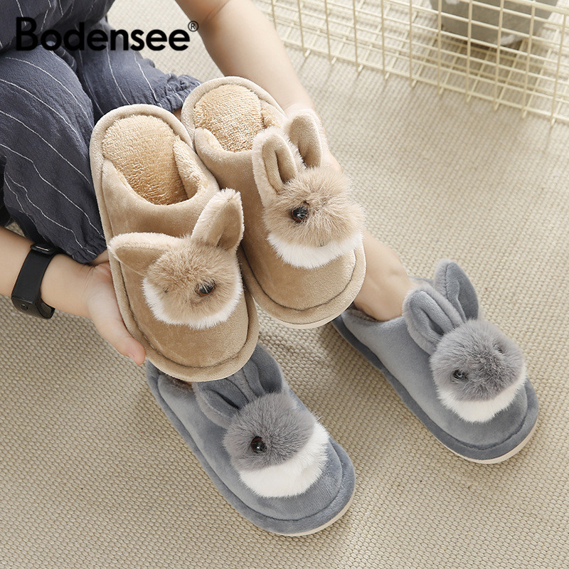 Bodensee Kids Cotton Slippers  Home Slippers Boys Girls Baby lush Shoes At home Indoor Bedroom slipper Children shoes S0012