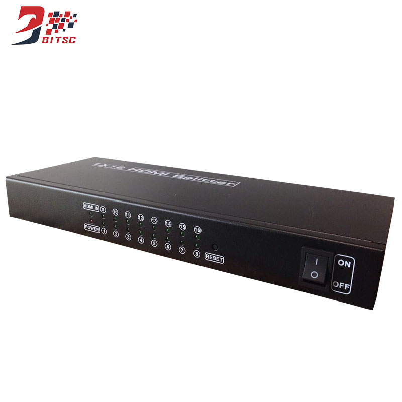 SZBITC Professional 1x16 HDMI Splitter 16 Ports Processor for Full HD 1080P 3D Support wavelets processor