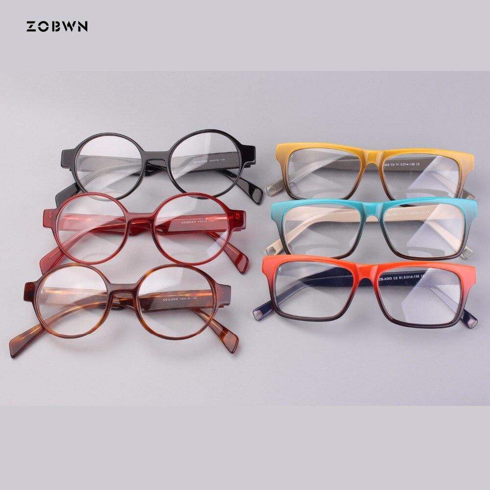 Retro Gläser Runde Mix Gradienten Optische Brillen Mode Rezept Für Bereit Rahmen Frauen Großhandel Weibliche Lager qq4wvT0