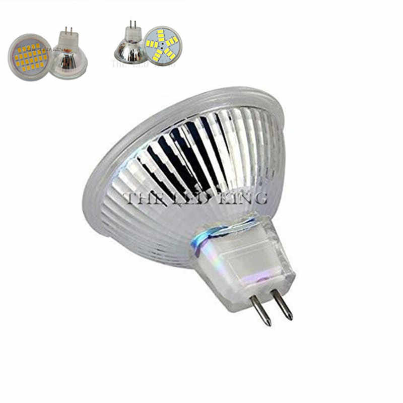 LED COB mini MR11 GU4 5 W 7 W 9 W 35mm dimmable 2700 k siang hari Putih hangat Dingin putih Spot Light Bulb Lampu halogen menggantikan lampu