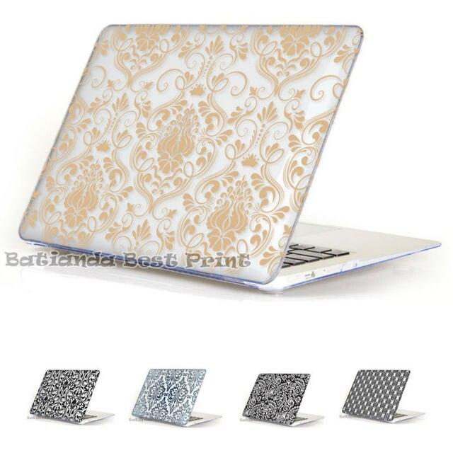 Роскошные Кружева Воздуха 11 12 13 Кристалл прозрачный Матовый Футляр Чехол для MacBook Pro Retina 13.3 15.4 ''дюймовый