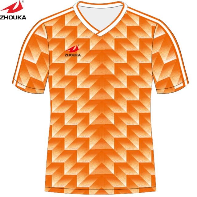 Custom Retro Soccer Jersey Sublimation Print Pattern Make