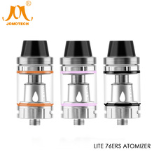 JomoTech Lite 76ers Atomizer 2ml Tank SS304 Airflow Adjustment Electronic Cigarette Vapor Atomizer for Lung Hitters Jomo-258