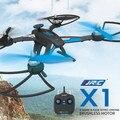 2016 Hot JJRC X1 Con 6-eje Del Motor Sin Escobillas 2.4G 4CH RC Quadcopter RTF MODO $ NUMBER Acelerador de Mano Izquierda