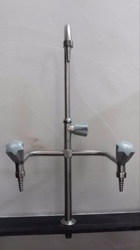 T004 pure water stainless steel single mouth gooseneck faucet