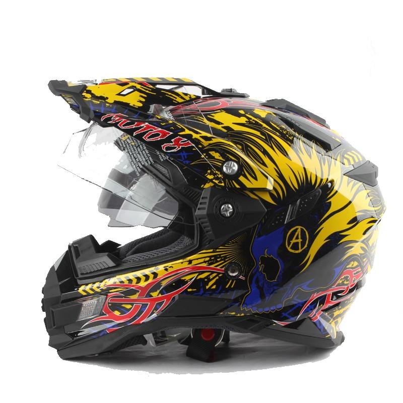 Avventura Stile Moto Rally Casco professionale Rally Bike casco DOT ECE Approvato DD anello fibbia Popolare casco