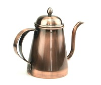 Free Shipping Stainless Steel Coffee Kettle Teapot 600ml