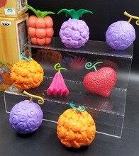 One piece Devil Fruit Action Figure 4pcs set